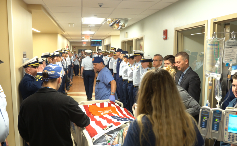 GW Hospital Honors Coast Guard Organ Donor