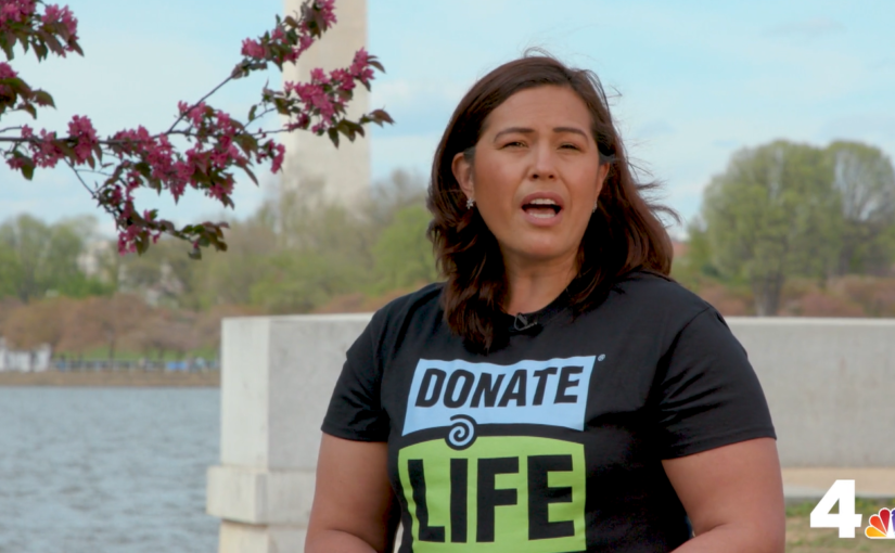 Living Kidney Donor Featured in NBC4 AAPI Campaign