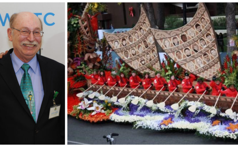 WRTC Volunteer Selected to Ride on Rose Parade Donate Life Float